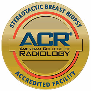 Stereotactic breast accredited seal